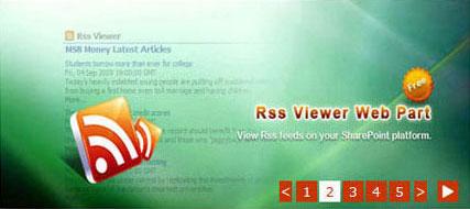 Full Live Banner Web Part screenshot