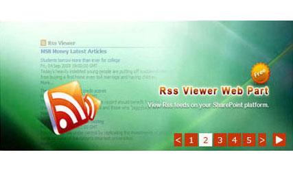 Live Banner Web Part full screenshot